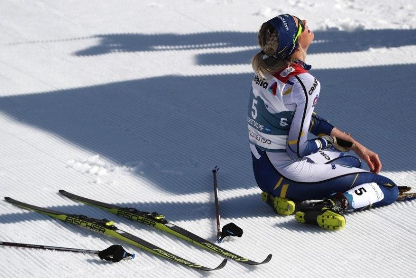 DRAAMA: MM-pronksi võitnud rootslanna viidi finiši järel haiglasse