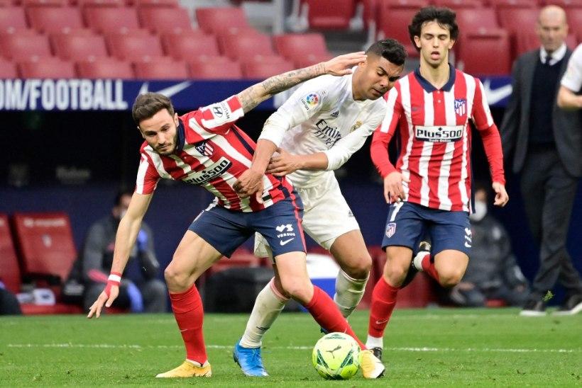 Suareze ja Benzema väravad tagasid Madridi derbis viigimängu