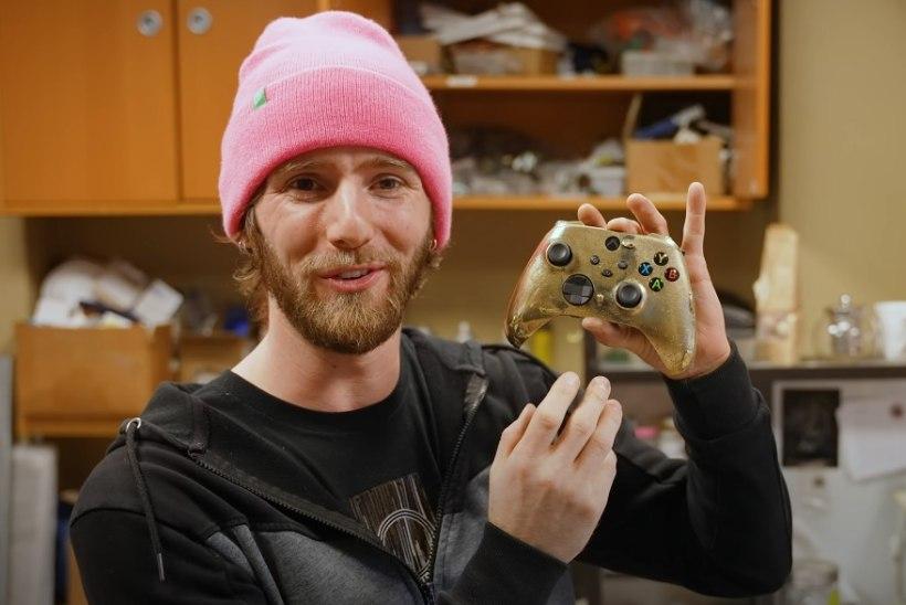 VIDEOD | Maailma kõige kallim Xboxi pult on tehtud puhtast kullast