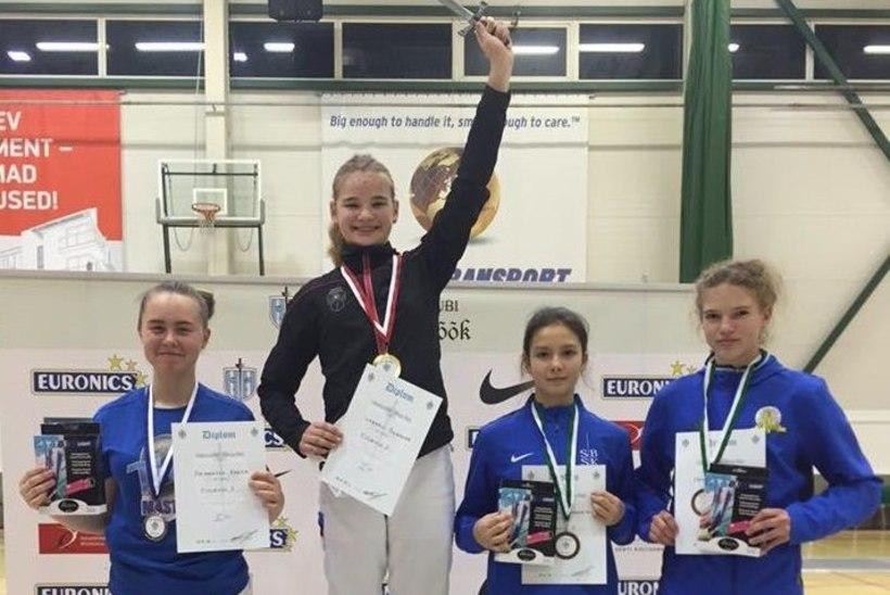 Eestlanna võitis vehklemise kadettide ja juunioride MMil pronksi