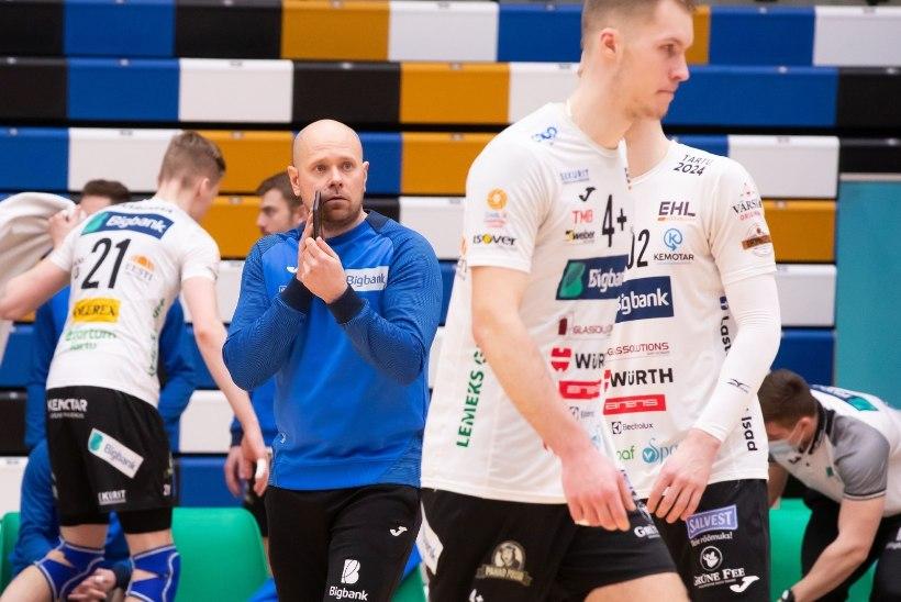 Võrkpalli Balti liigas pääsesid kaks Eesti klubi poolfinaali
