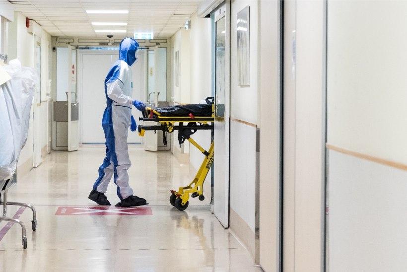 Ööpäevaga lisandus 438 koroonapositiivset, haiglaravi vajab 589 patsienti