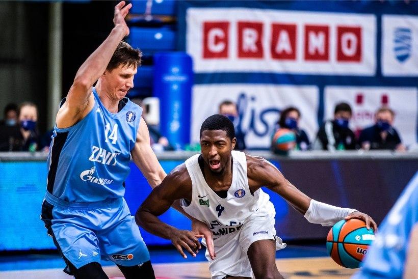 Kalev/Cramo alistas finaalis Riia VEFi ning tuli Eesti-Läti korvpalliliiga meistriks