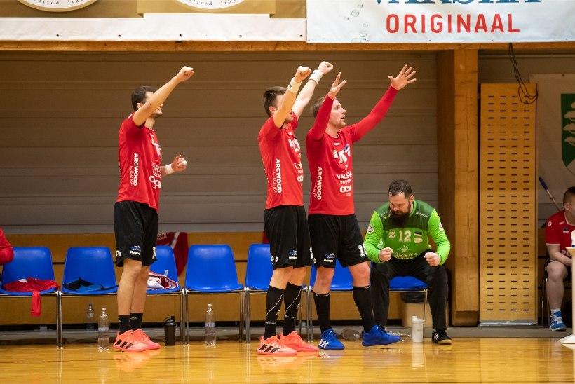 Haavatud Serviti võitis Balti liigas pronksmedali