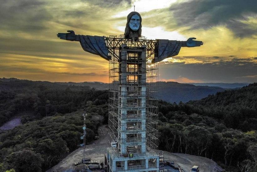 Brasiilias ehitatakse uut hiiglaslikku Kristuse kuju