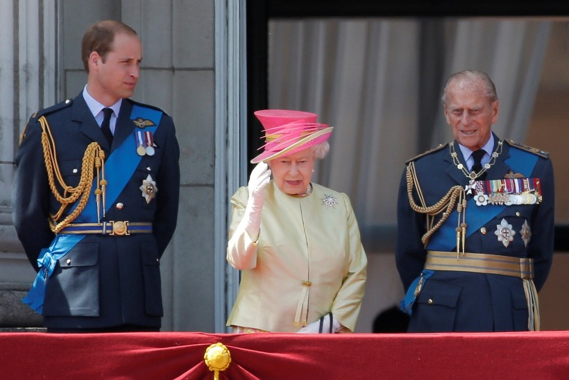 Prints William avaldas liigutava järelehüüde oma vanaisale Philipile