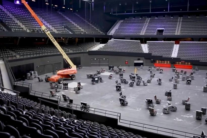 Rotterdamis alustati Eurovisioni lava ehitamisega