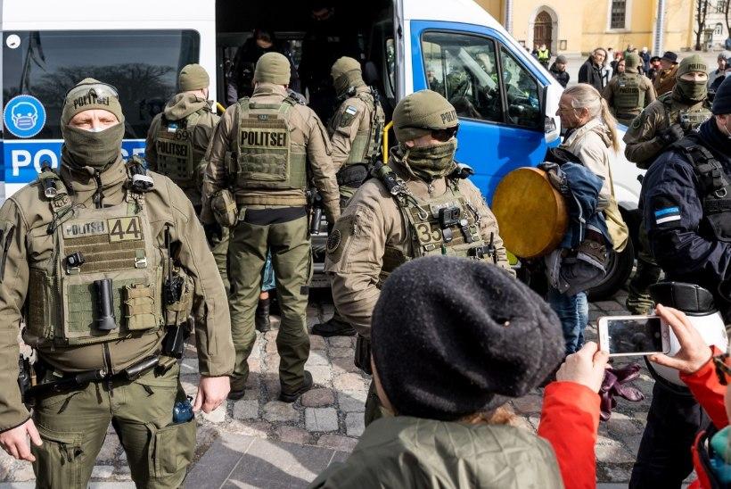 Siseminister meeleavaldustest   Politsei kohus on rikkumised lõpetada