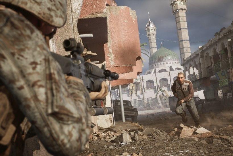 Moslemitest aktivistid kutsuvad mänguplatvorme üles keelustamaks skandaalset Iraagi sõjast pajatavat märulit