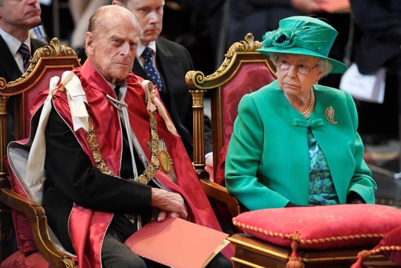 EHMATAV SEIK: kui kuninganna sureb, kaevatakse Philip hauast välja
