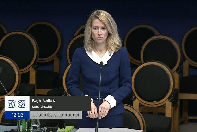 Kallas infotunnis: reegleid korrektselt järgivate inimeste huvides kutsutakse korrale kõik, kes juhistest kinni ei pea