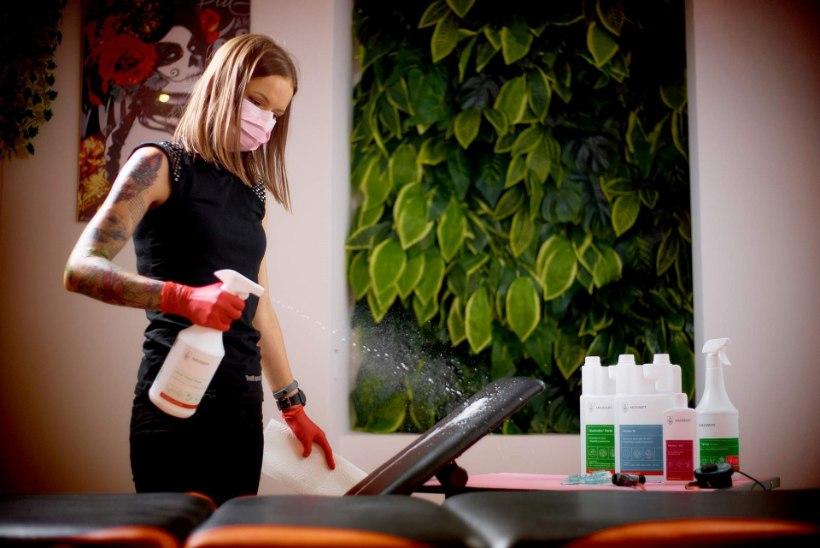 Ilutöötajate puudulik hügieen paneb kliendi tervise ohtu
