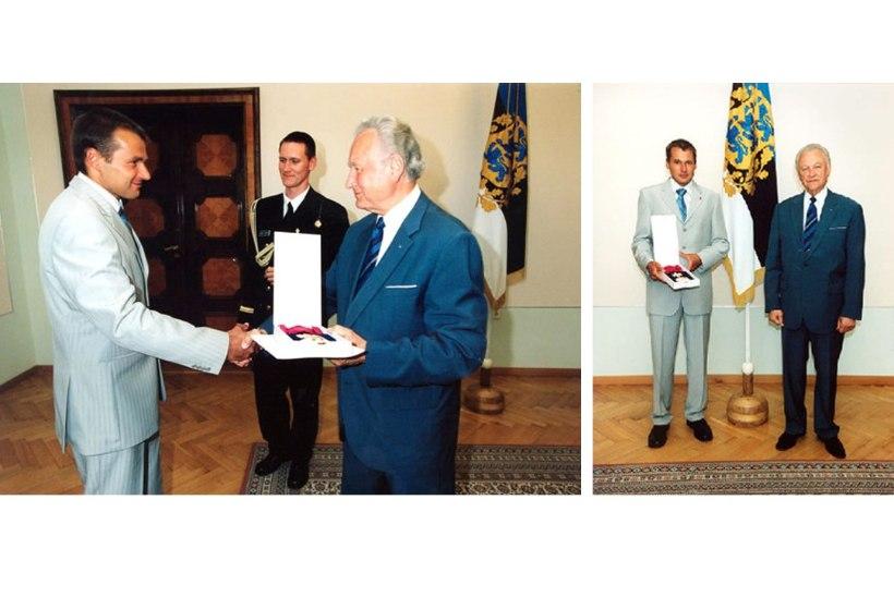 Presidendi otsusega võetakse Andrus Veerpalult teenetemärgid