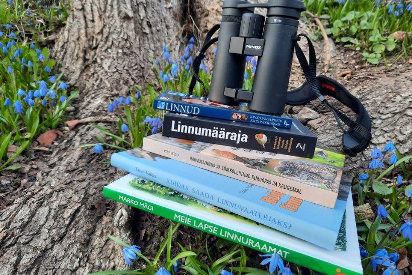 Raamat näppu ja linde uurima! Harrastusornitoloog Peep Veedla jagab kasulikke nõuandeid, kuidas sulelistega tutvust teha