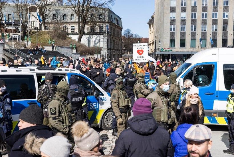 Politsei peadirektor: kapo hoiatas, et põhiseaduslik kord võib olla ohus