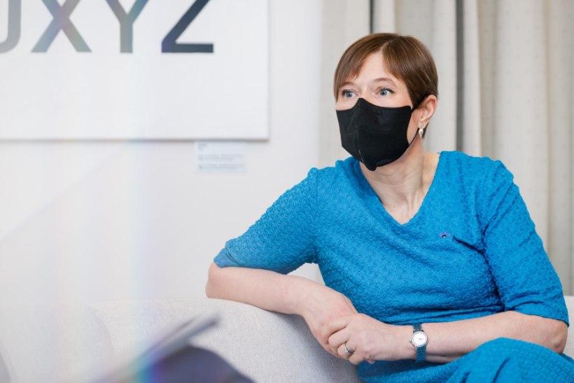 """Kersti Kaljulaid: """"Mul on väga selge plaan. Minust saab president, kui ma ei ole enam Eesti Vabariigi president."""""""