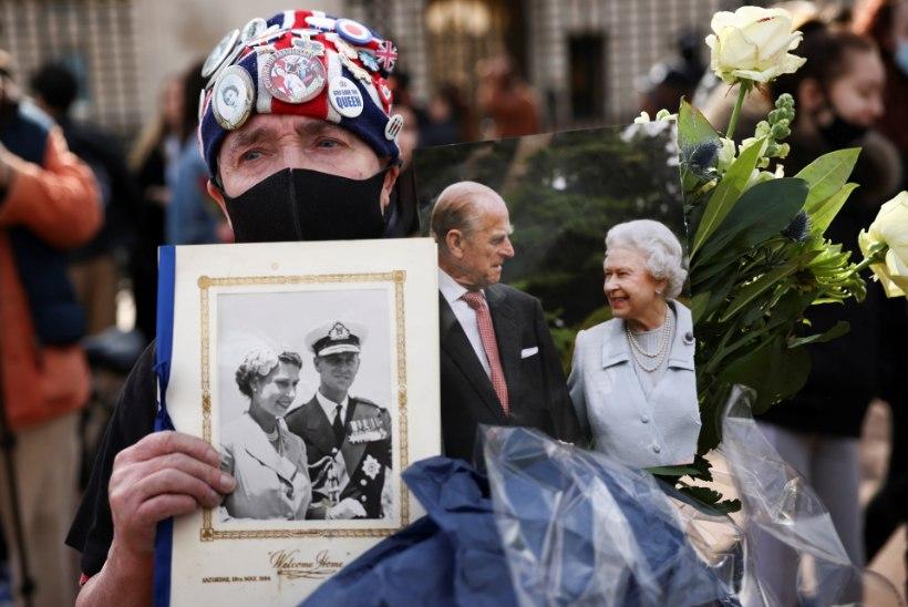VIDEO JA GALERII | 99aastaselt surnud prints Philip saadeti viimsele teele