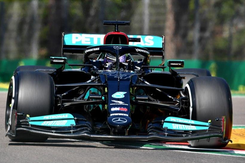 Kvalifikatsiooni võitnud Hamilton jõudis võimsa tähise lävele