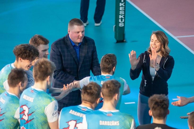 GALERII | Eesti meister ei saanud pronksilahingus Läti meistrile vastu. Toobali sussidesse astunud Järv ja peatreener Rikberg: meil oli must nädal
