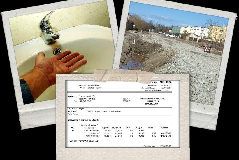 Hookuspookus Muugal: kanalisatsioonitööd kergitasid vee hinna mitmekordseks