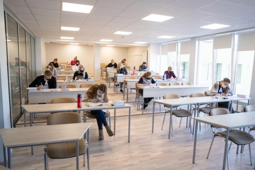 Esimene ja vabatahtlik: eksamipalavik haarab õpetajaidki kaasa