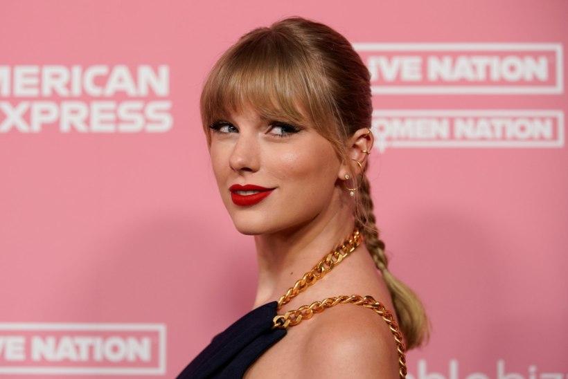 Taylor Swift purustas The Beatlesi rekordi