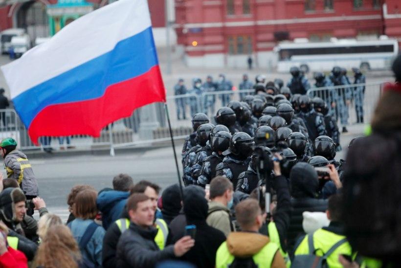 FOTOD JA VIDEOD | Venemaal toimusid protestid Navalnõi toetuseks