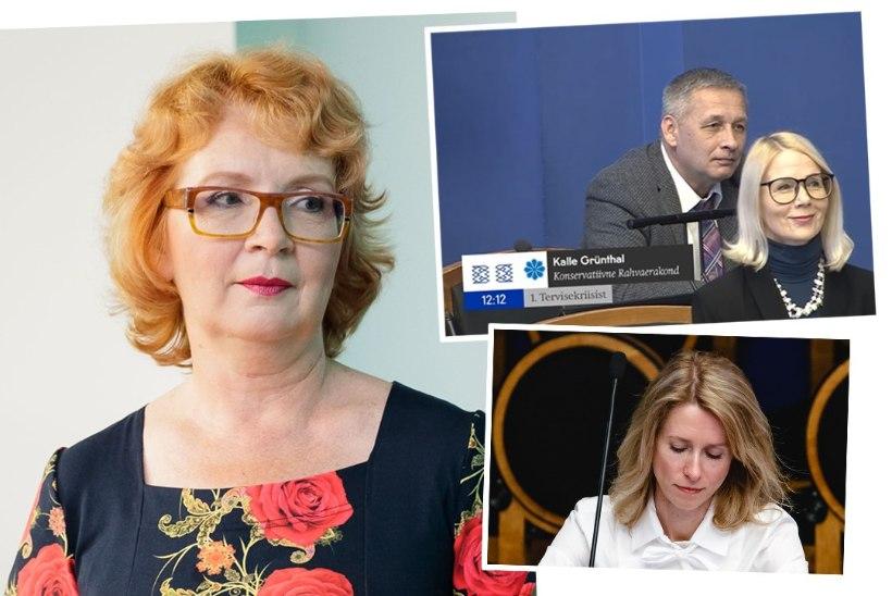 Yana Toom: keegi Grünthal teeb seda, mida kõige paremini oskab – kiusab naist
