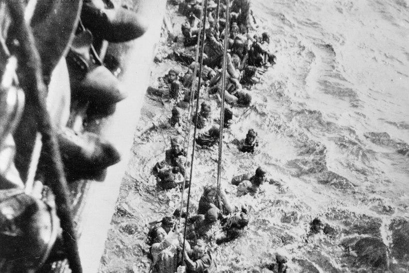 USKUMATU KARJÄÄR: laevakass Uppumatu Sam pääses II maailmasõja ajal kolmest laevahukust