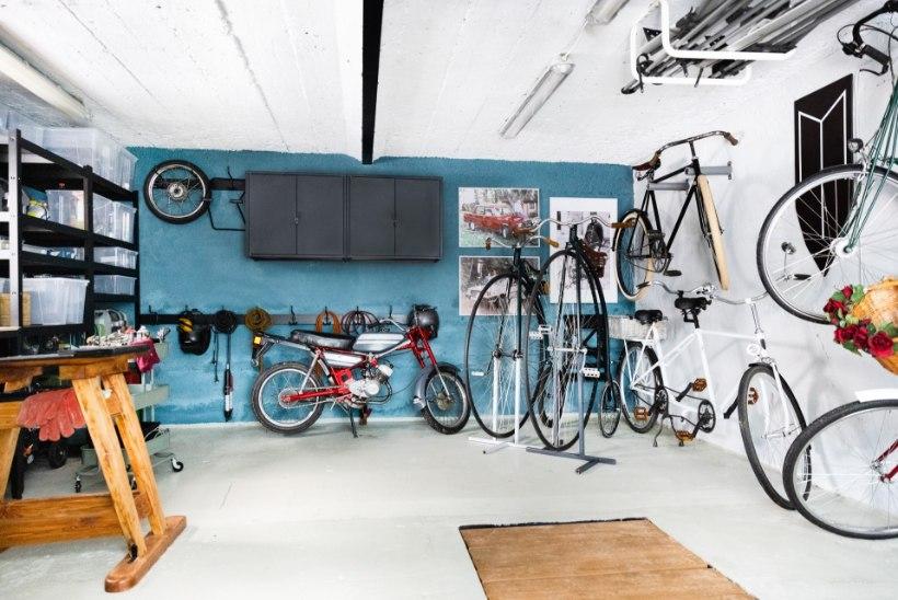 Võta garaažist maksimum: nutikaid ideid panipaigast jõusaalini
