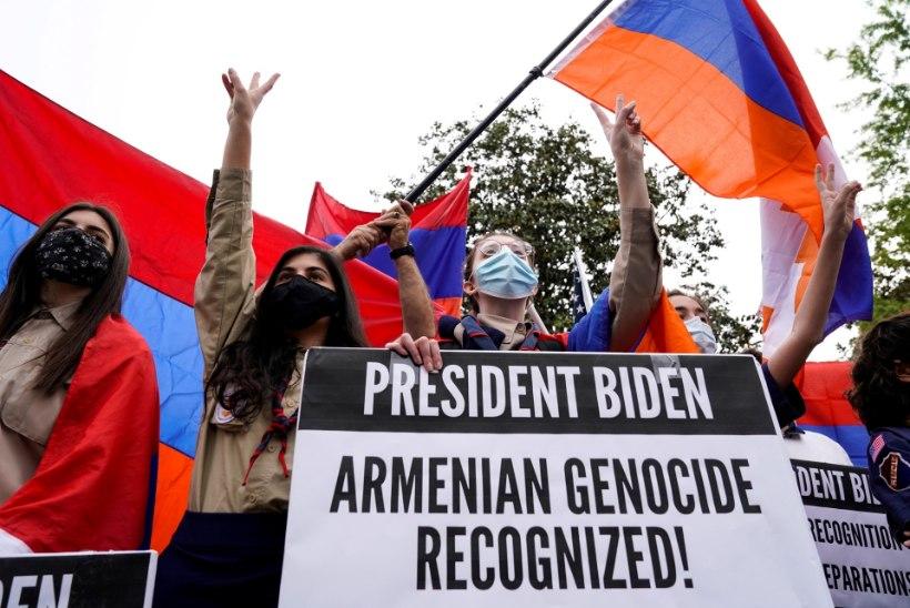 Türgi mõistab Bideni avalduse seoses Armeenia genotsiidiga hukka