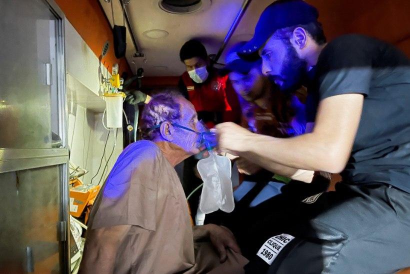 Iraagi koroonahaiglas hukkus tulekahjus vähemalt 82 inimest