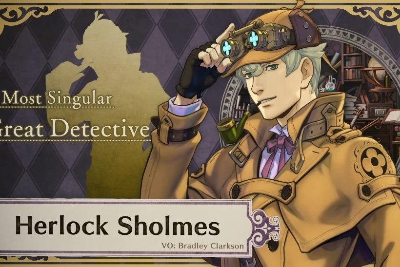 Sherlock Holmesi nimi uues mängus on Herlock Sholmes ja sellel on üks äärmiselt jabur põhjus