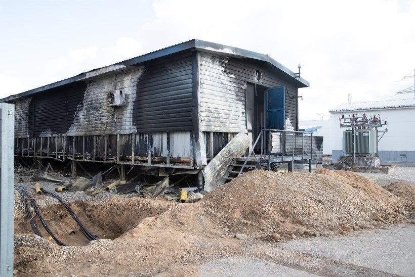 PEA 35 TUNDI HILJEM: elektriühendus Jõgeval pärast alajaama põlengut on lõpuks taastunud