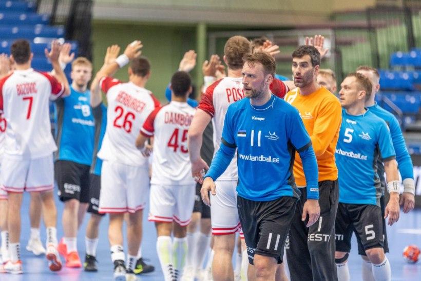 GALERII | Eesti koondis vandus Austriale alla. Marius Aleksejev: esimese kümne minutiga oli kaitse laiali ja ka rünnakul oli hapu seis