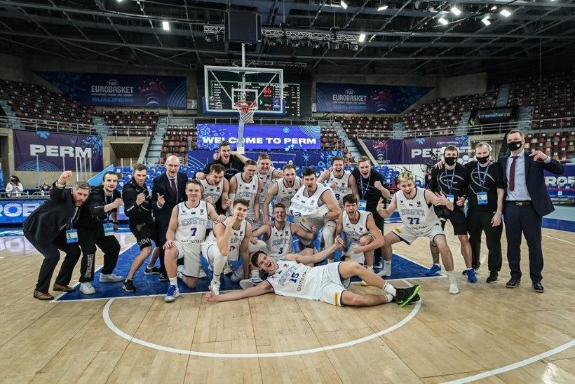 BLOGI   Eesti korvpallikoondis sai teada EM-finaalturniiri vastased