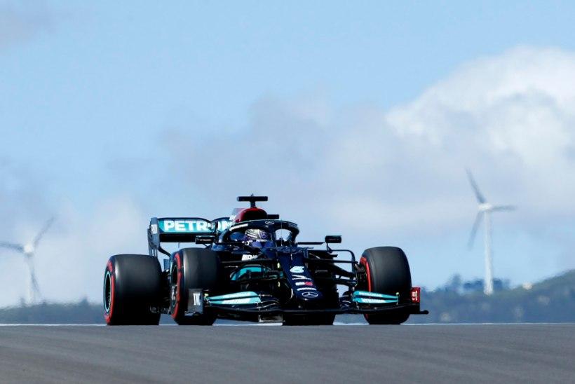 Portugali vabatreeningutel olid kiireimad Mercedese mehed