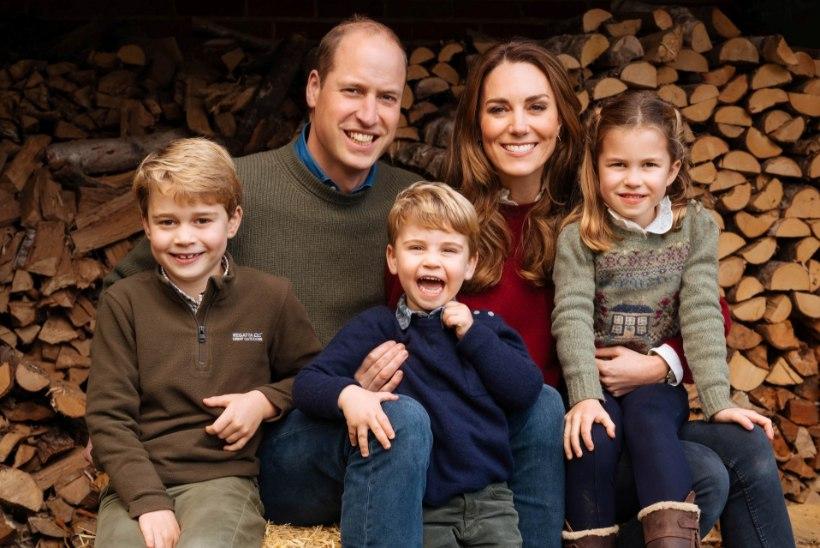 Prints William ja Kate avaldasid haruldase video kodusest elust koos kolme lapsega