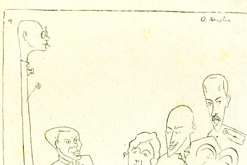 Kultuur karikatuuris enne Eesti Wabariiki: Kristian Jaagust tõrvakana ja pitsivahuni