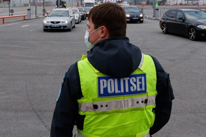 Juhtkiri   Saadame politsei koroonarünnakule
