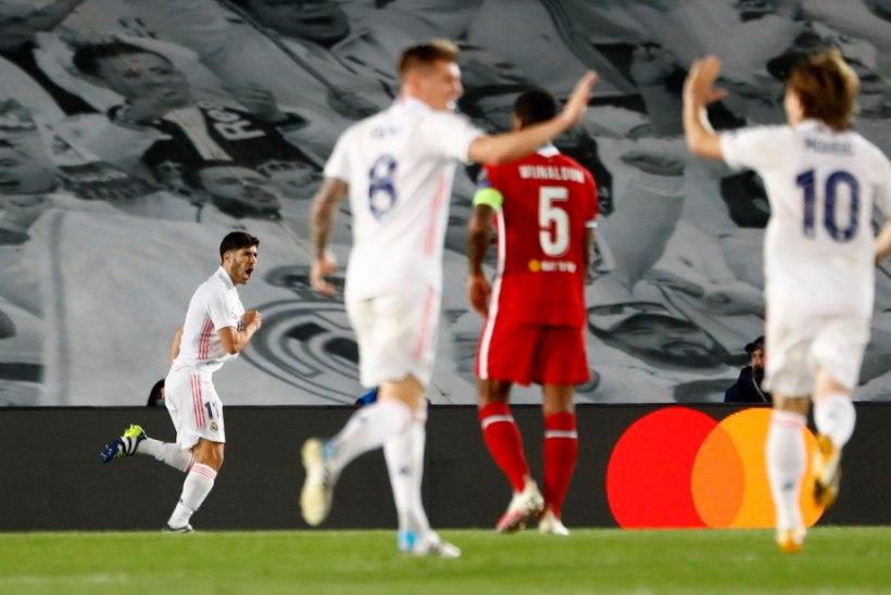 GALERII | Real alistas Liverpooli, City teenis hilise värava abil võidu Dortmundi üle