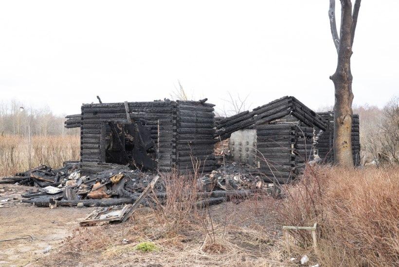 Põlengus hukkus vanapaar, politsei uurib õnnetuse põhjust