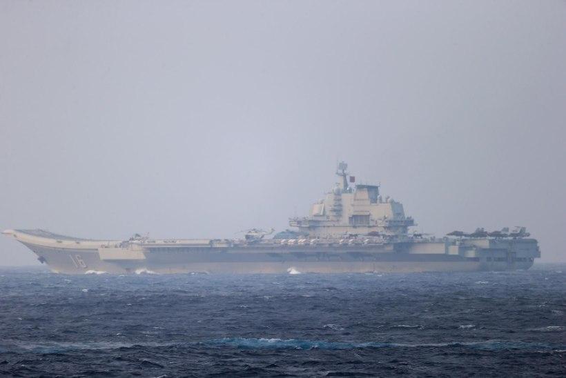 Hiina alustas Taiwani all mereväemanöövreid