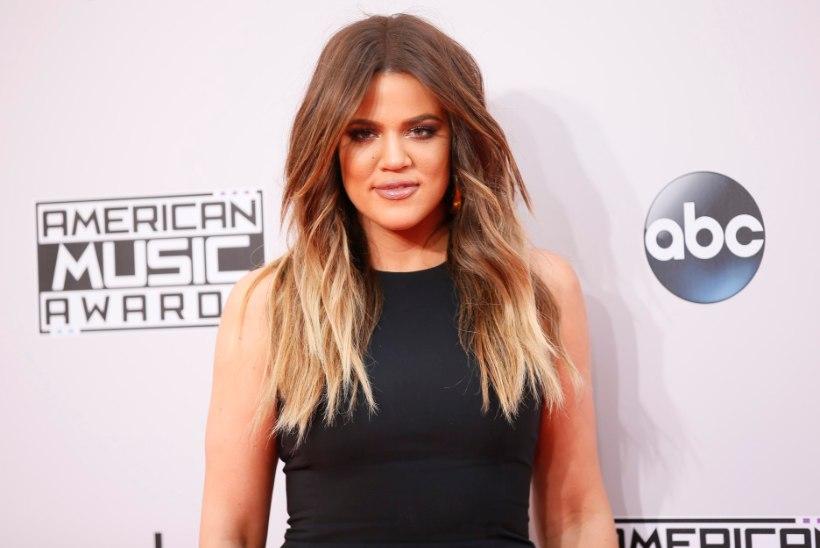 Kardashiani-klann näeb kurja vaeva, et Khloé retušeerimata bikiinifotot eemaldada