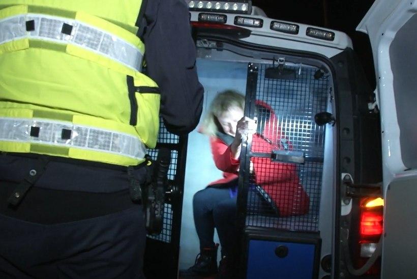 """Politsei tabas Maire Aunaste taas joobnuna autoroolist. Aunaste: """"Tõesti, mul ei ole mitte midagi öelda."""""""