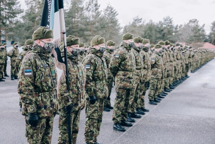 Kaitsevägi valetas! Rivistused Kuperjanovis toimusid ka koroonaviiruse leviku ajal