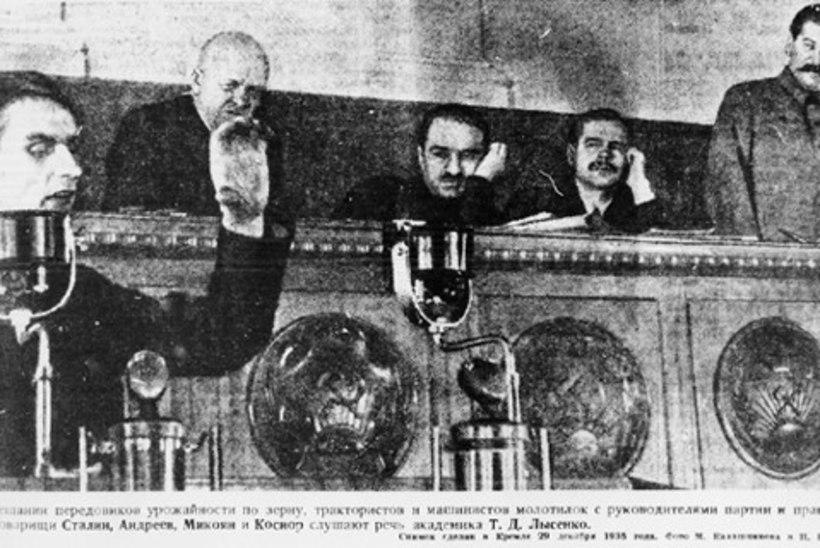 PALJASJALGNE TEADLANE: Nõukogude Liidu juhtiv bioloog Trofim Lõssenko näljutas ebateaduse abil miljoneid inimesi