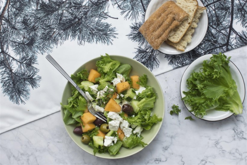 KEELE VIIB ALLA | Tomativaese aja Kreeka salat