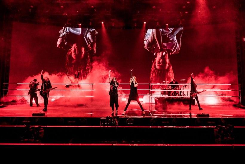 Soome rokkarid kurvad: Eurovisioni laval ei lubata keskmist sõrme näidata