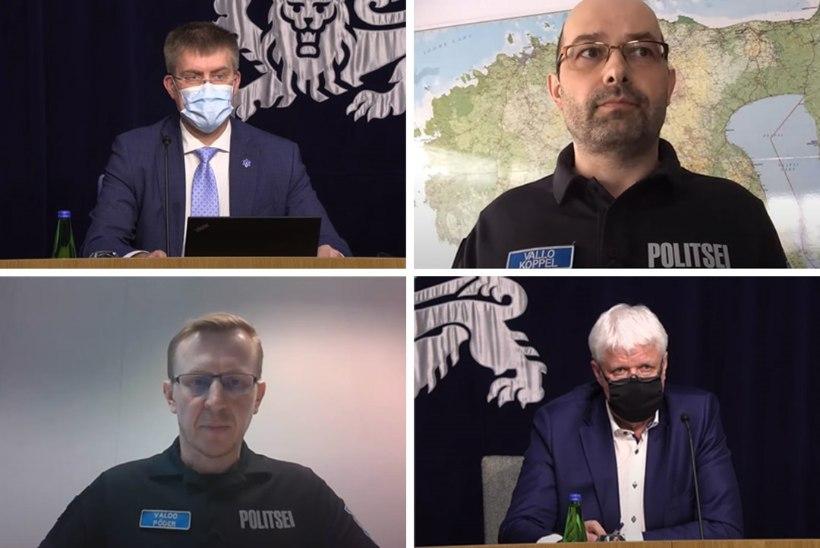 Politsei kriisistaabi juht: Toompea valvemeeskonda pole meeleavaldajate tõttu suurendatud